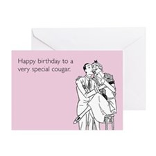 Very Special Cougar Greeting Card