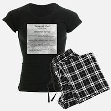 'Breakfast Club Detention' Pajamas