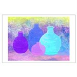 Pottery in Pastel Large Poster