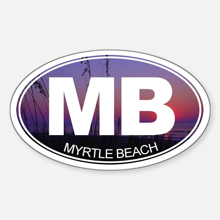 MB - Myrtle Beach - Decal