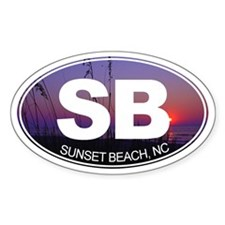 Sunset Beach, NC - Decal