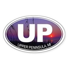 UP - Upper Peninsula, MI - Decal
