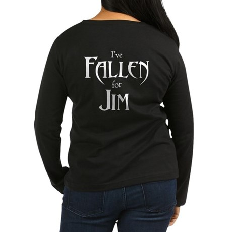 FA Jim Women's Long Sleeve Dark T-Shirt