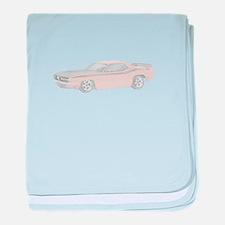 1970 Plymouth Barracuda - ora baby blanket