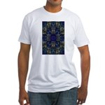 Eyes of the Night Fitted T-Shirt
