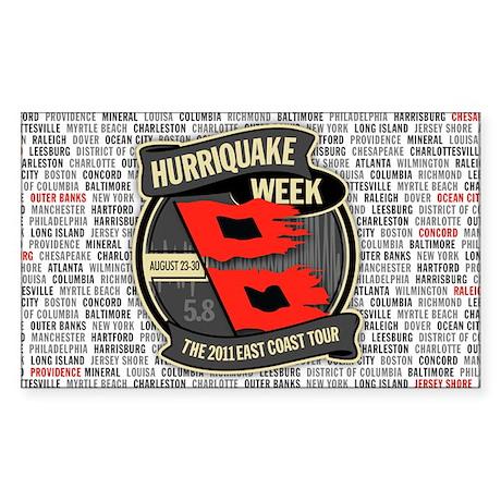 Huriquake Week 2011 Sticker