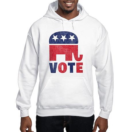 Republican Vote 2 Hooded Sweatshirt