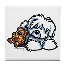 Coton Teddy Tile Coaster