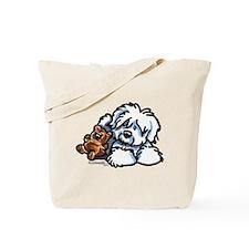 Coton Teddy Tote Bag