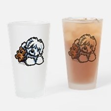 Coton Teddy Drinking Glass