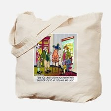 Easy For You To Say Give Me Liberty or Death Tote