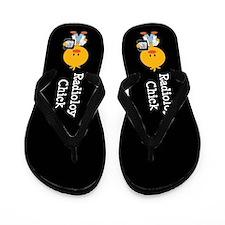 Radiology Chick Flip Flops