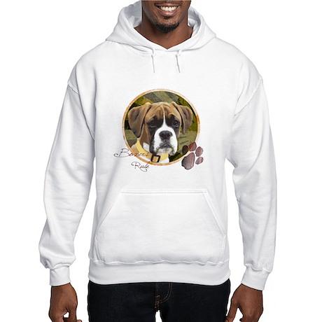 Boxer Dog Hooded Sweatshirt