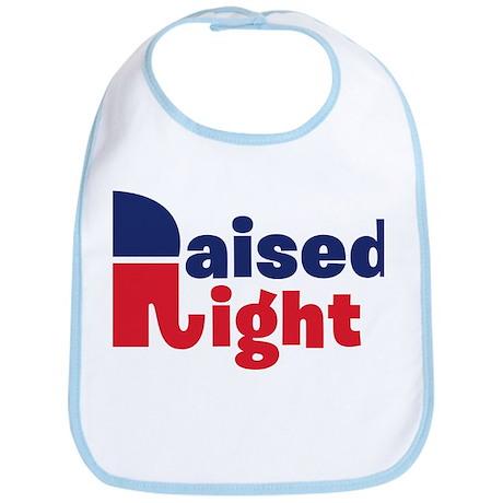 Raised Right Bib