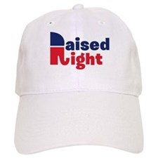 Raised Right Baseball Cap