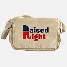 Raised Right Messenger Bag