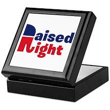 Raised Right Keepsake Box
