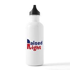 Raised Right Water Bottle