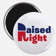 Raised Right Magnet