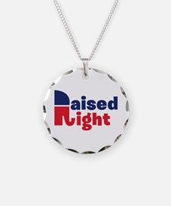 Raised Right Necklace