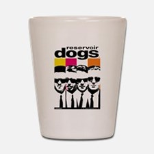 Reservoir Dogs DVD Cover Style Shot Glass