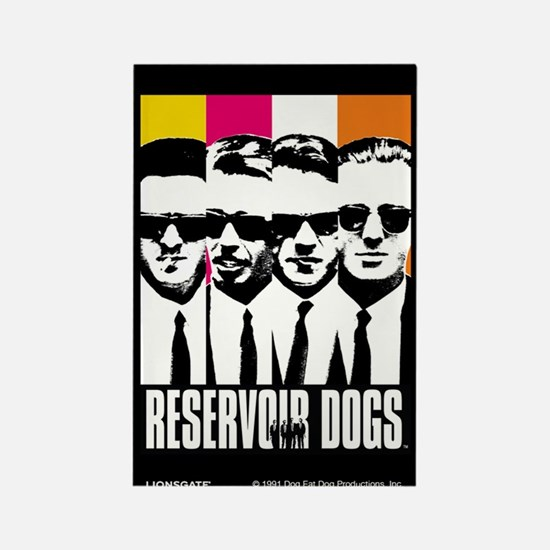 Reservoir Dogs DVD Cover Style Magnet