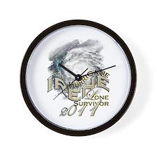 Hurricane Irene Survivor - Wall Clock