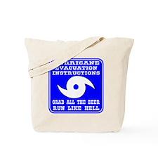 Hurricane Evacuation Tote Bag