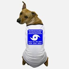 Hurricane Evacuation Dog T-Shirt