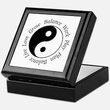 Balance Yin Yang Keepsake Box