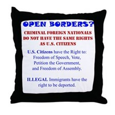 Our Rights Throw Pillow
