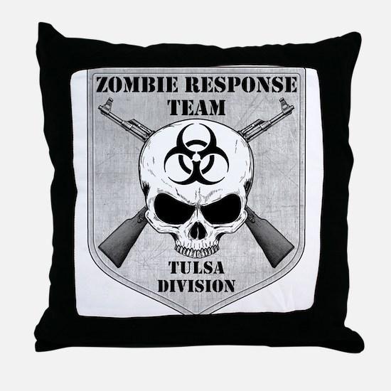 Zombie Response Team: Tulsa Division Throw Pillow