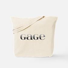 Gage Carved Metal Tote Bag