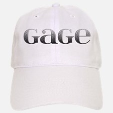 Gage Carved Metal Baseball Baseball Cap