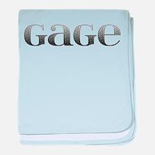 Gage Carved Metal baby blanket