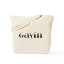 Gavin Carved Metal Tote Bag