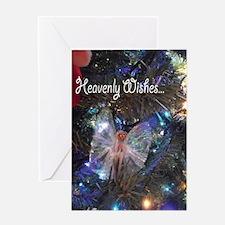 Wishing angels Greeting Card