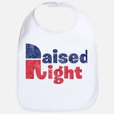 Raised Right 2 Bib
