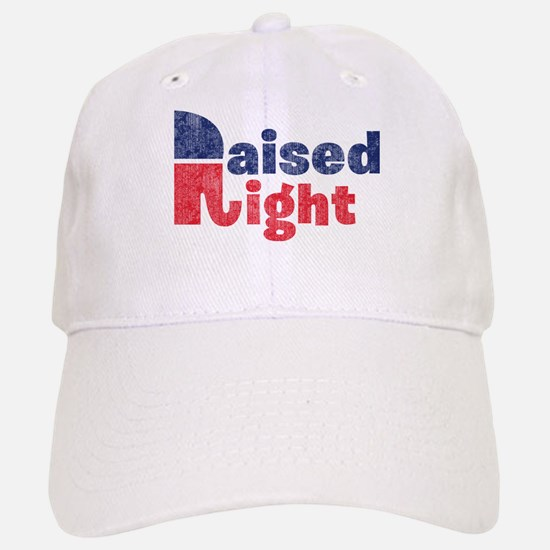 Raised Right 2 Baseball Baseball Cap