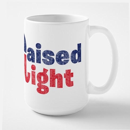 Raised Right 2 Large Mug