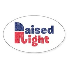 Raised Right 2 Decal