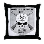 Zombie Response Team: Seattle Division Throw Pillo