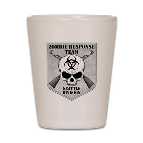 Zombie Response Team: Seattle Division Shot Glass