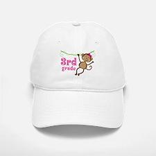 Cute 3rd Grade Monkey Gift Baseball Baseball Cap