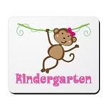 Cute Kindergarten Monkey Gift Mousepad