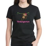 Cute Kindergarten Monkey Gift Women's Dark T-Shirt