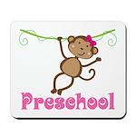 Cute Preschool Monkey Gift Mousepad