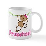 Cute Preschool Monkey Gift Mug