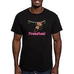 Cute Preschool Monkey Gift Men's Fitted T-Shirt (d
