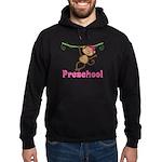Cute Preschool Monkey Gift Hoodie (dark)